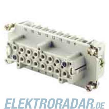 Weidmüller Steckergehäuse HDC HVE 6+2 FS