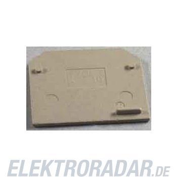 Weidmüller Abschlußplatte AP SAK4-10 KRG/DB