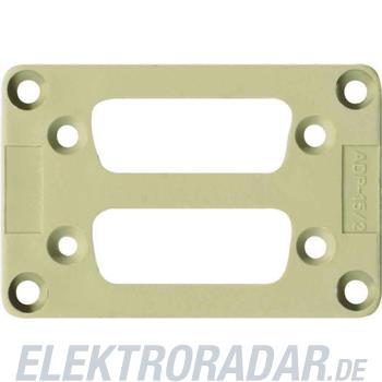 Weidmüller Adapterplatte ADS/6-2/15