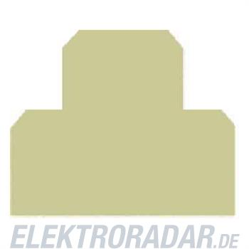 Weidmüller Abschluss-, Zwischenplatte AP DK4 BL