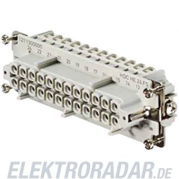 Weidmüller Steckverbinder-Einsatz HDC HE 24 FS