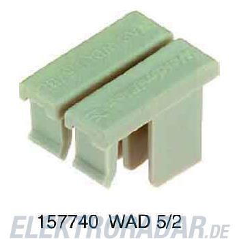 Weidmüller Abdeckplatte WAD WDU1.5/BL