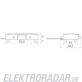 Weidmüller Steckverbinder-Gehäuse HDC 16B DODQ 4BO