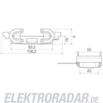 Weidmüller Steckverbinder-Gehäuse HDC 16B DMDQ 2QB