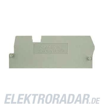 Weidmüller Abschlußplatte ZAP/TW ZT2.5/3AN
