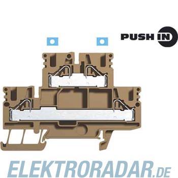 Weidmüller Doppelstockklemme PDK 2.5/4N/L