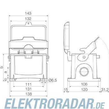 Weidmüller Steckverbinder-Gehäuse HDC 48B SDLU 1M32G