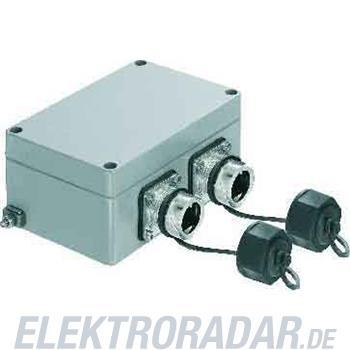 Weidmüller Flanschdose 2Port IE-OM-V01M-K21-2S