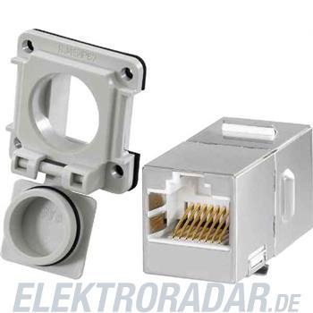 Weidmüller Einbauflansch IE-XM-RJ45/RJ45-IP67