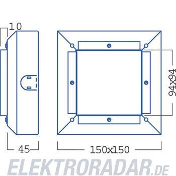Zumtobel Licht Gehäuse IP20 S7 709950