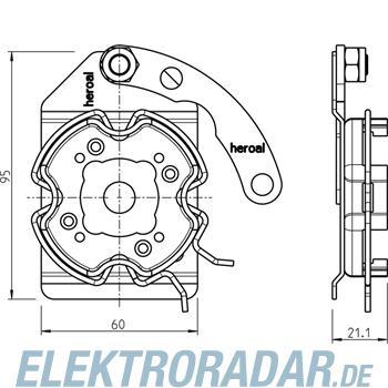 Rademacher Click-Antriebslager 4015K-16