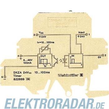 Weidmüller Zeitrelais DKZA DK5 24VDC1-100S