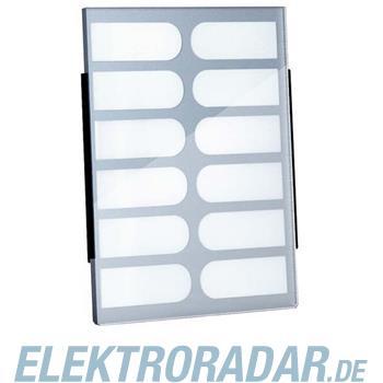 TCS Tür Control Namenschildglas f. PES12-/ EGE12-GK