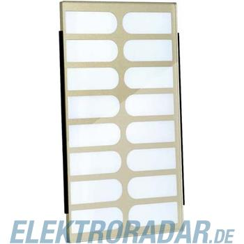 TCS Tür Control Namenschildglas f. PES16-/ EGE16-BR