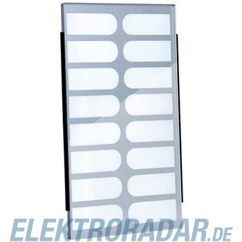 TCS Tür Control Namenschildglas f. PES16-/ EGE16-GK