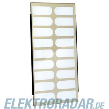 TCS Tür Control Namenschildglas f. PES18-/ EGE18-BR
