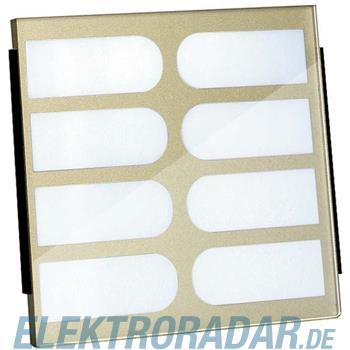 TCS Tür Control Namenschildglas für PES08- EGE08-BR