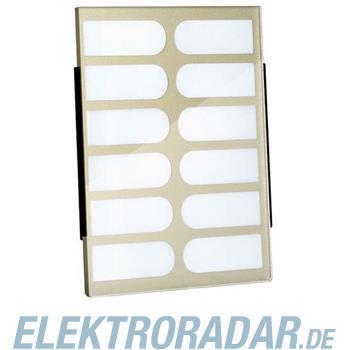 TCS Tür Control Namenschildglas f. PES12-/ EGE12-BR