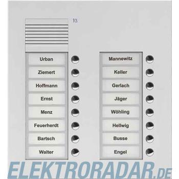 TCS Tür Control Audio Außenstation PUK 16 PUK16/2-ES