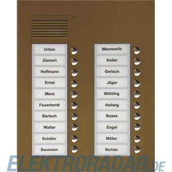 TCS Tür Control Audio Außenstation PUK 20 PUK20/2-EB