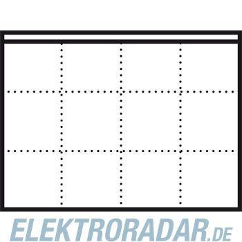 Siedle&Söhne LED-Flächenleuchte LEDF 600-4/3-0 WH