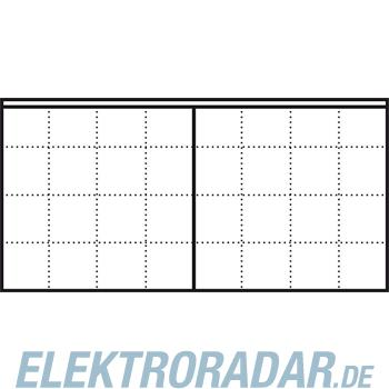 Siedle&Söhne LED-Flächenleuchte LEDF 600-8/4-0 WH