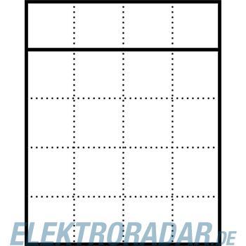 Siedle&Söhne Briefkasten-Gehäuse AP BGA 611-4/5-0 DG