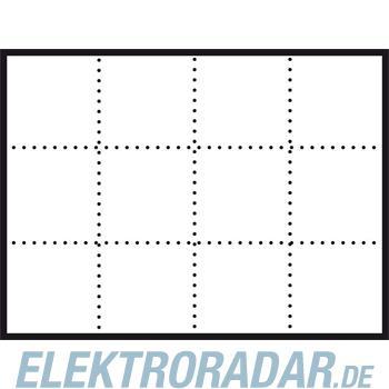 Siedle&Söhne Infoschild-Modul ISM 611-4/3-0 WH