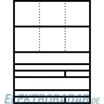 Siedle&Söhne Raumspar-Briefkasten AP RGA 611-2/2 DG