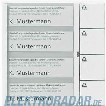 Siedle&Söhne Tasten-Modul TM 612-4 WH
