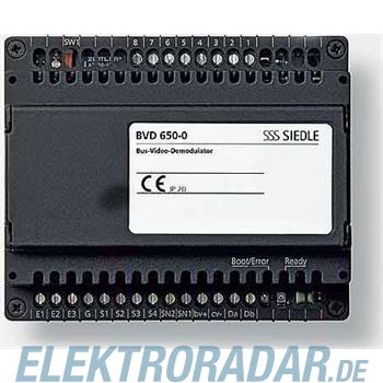 Siedle&Söhne Bus-Video-Demodulator BVD 650-0