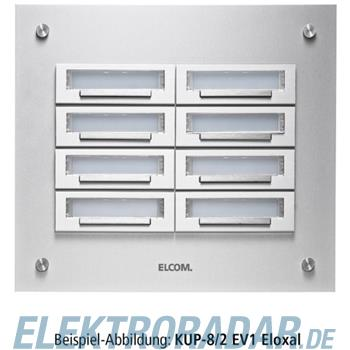Elcom UP-Klingelplatte KUP-2/1 EV1
