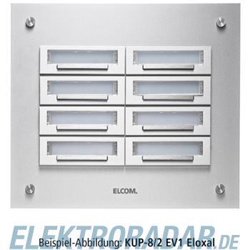 Elcom UP-Klingelplatte KUP-8/1 EV1