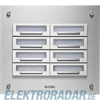 Elcom UP-Klingelplatte KUP-8/2 EV1