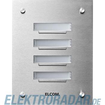 Elcom UP-Klingelplatte KVM-4/1