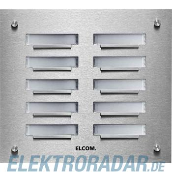 Elcom UP-Klingelplatte KVM-6/2