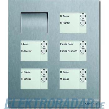 Busch-Jaeger Außenstation Audio 10-fach 83105/10-660