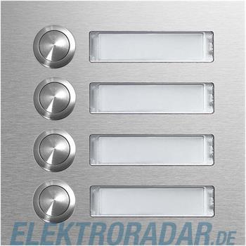 Elcom 4-Taster+Schild CZM-140