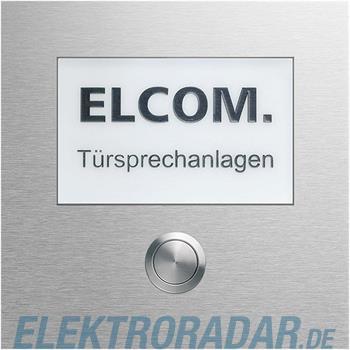 Elcom 1-Taster+ gr.Schild CZM-210