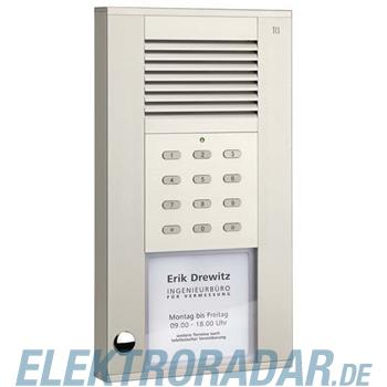 TCS Tür Control Audioaußenstation 1-reihig ASD51010-0010