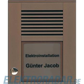TCS Tür Control Audioaußenstation1-reihig PDS01-EB/04
