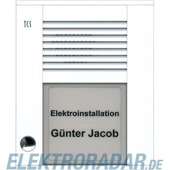 TCS Tür Control Audioaußenstation1-reihig PDS01-WS/04