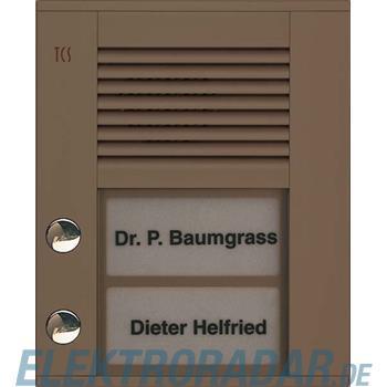 TCS Tür Control Audioaußenstation1-reihig PDS02-EB/04