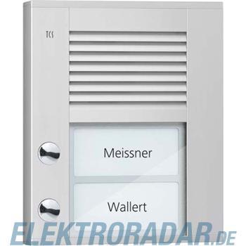 TCS Tür Control Audioaußenstation1-reihig PDS02-EN/04