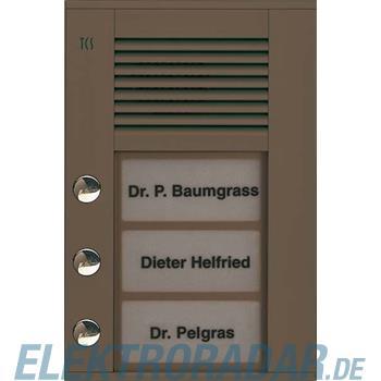 TCS Tür Control Audioaußenstation1-reihig PDS03-EB/04
