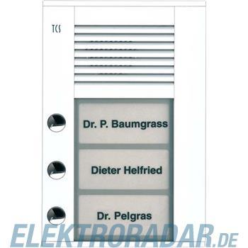 TCS Tür Control Audioaußenstation1-reihig PDS03-WS/04