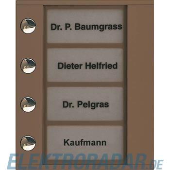 TCS Tür Control Audioaußenstation 1-reihig PDT04-EB/04