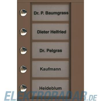 TCS Tür Control Audioaußenstation 1-reihig PDT05-EB/04