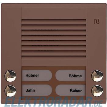 TCS Tür Control Audioaußenstation 2-reihig PES04-EB/04