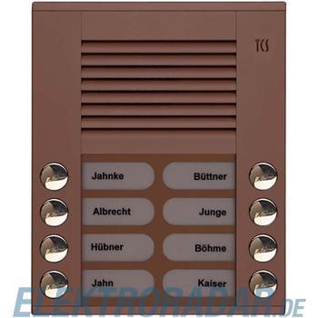 TCS Tür Control Audioaußenstation 2-reihig PES08-EB/04